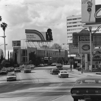 Sunset Strip looking west. 1979
