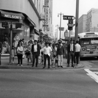 Broadway and 4th. 1968