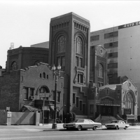 Third Church of Christ, Scientist, located at 734 S. Hope Street. 1965