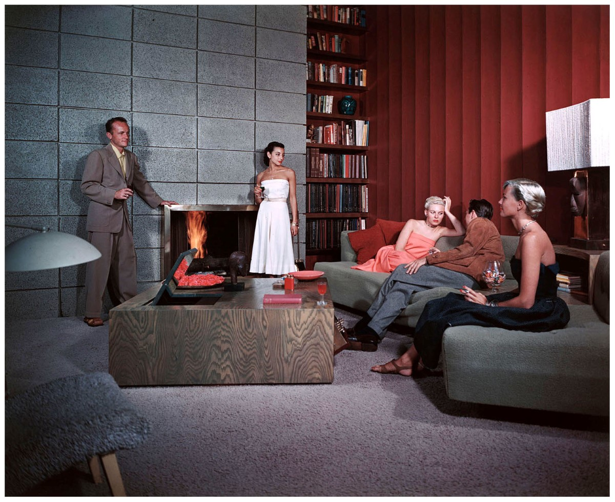 1950-cocktail-hour-at-the-spencer-residence-in-santa-monica-note-the-mirror-view-television-sunken-into-the-table-architect-richard-spencer-color-transparency-by-julius-shulman (Custom)