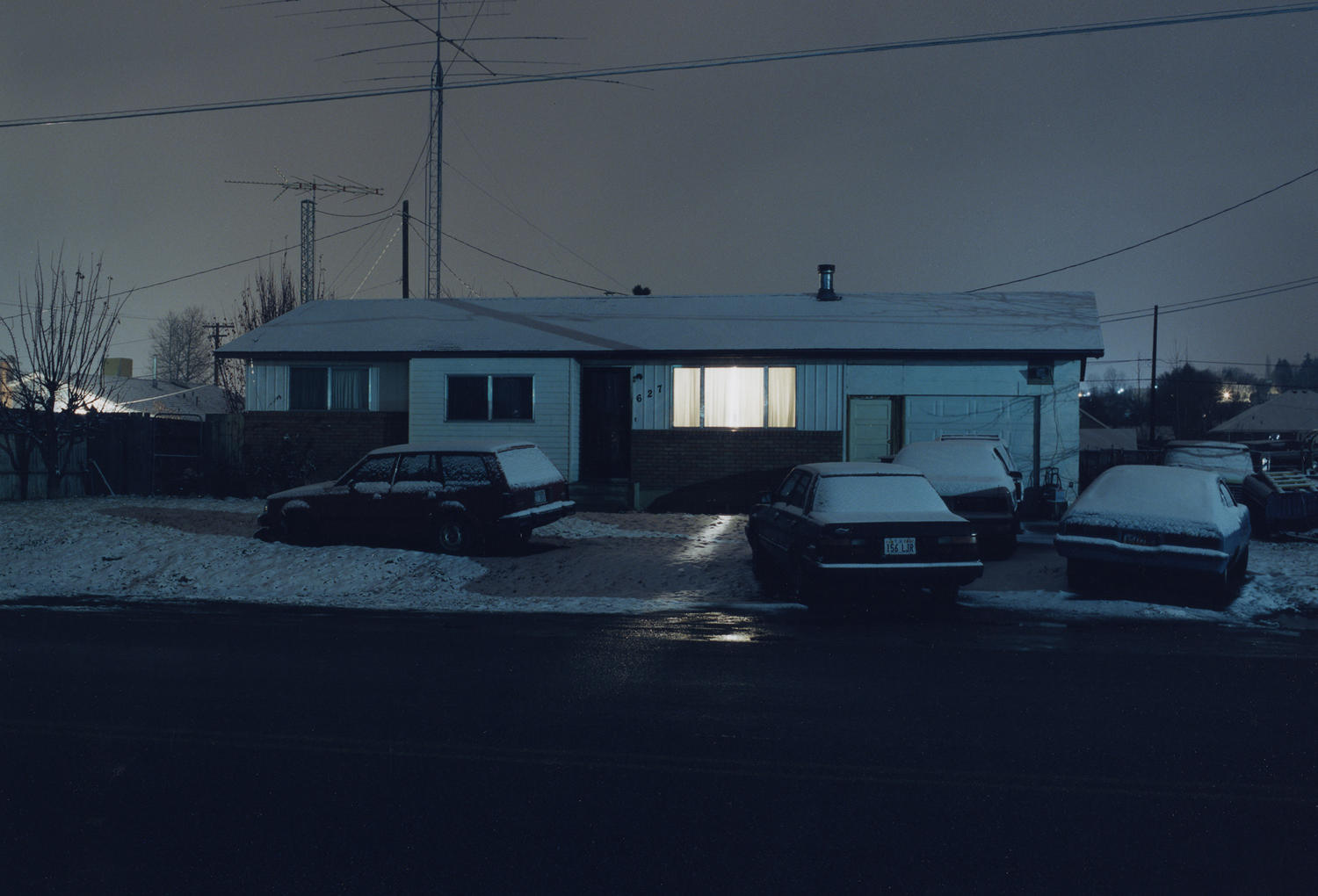 Todd Hido Fragmented Narratives 2011 American Suburb X