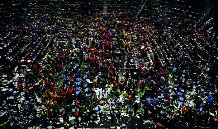 Andreas Gursky New York Stock Exchange 1991
