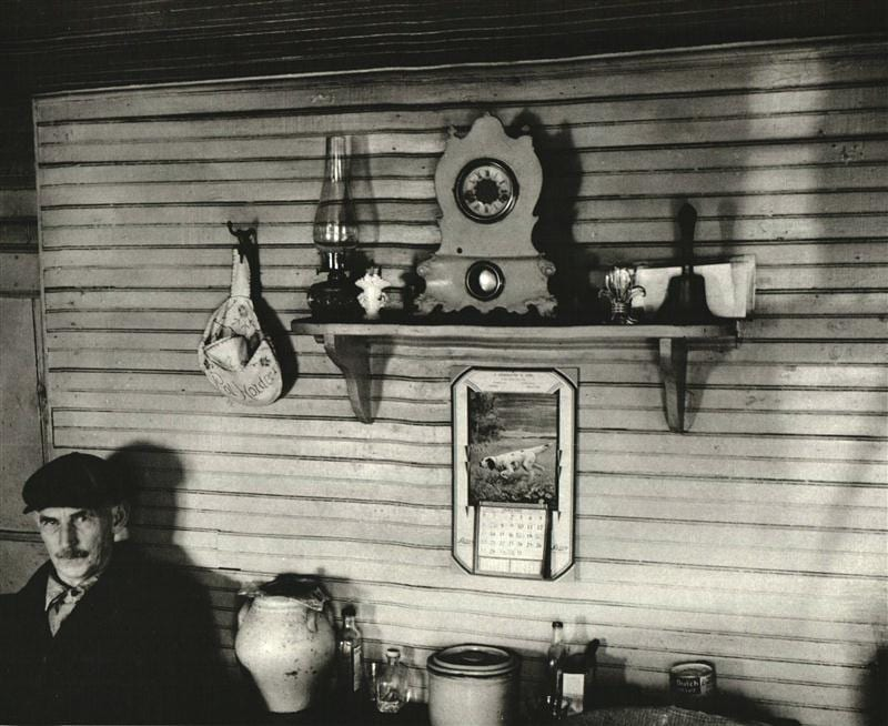 walker evans message from the interior