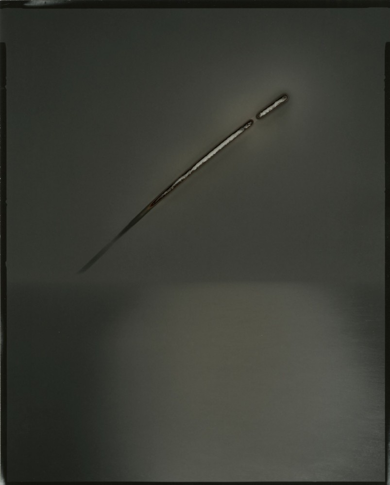 Chris McCaw, Sunburned GSP#755 (Pacific Ocean), 2014, -¬ the artist, courtesy of Yossi Milo Gallery, New York