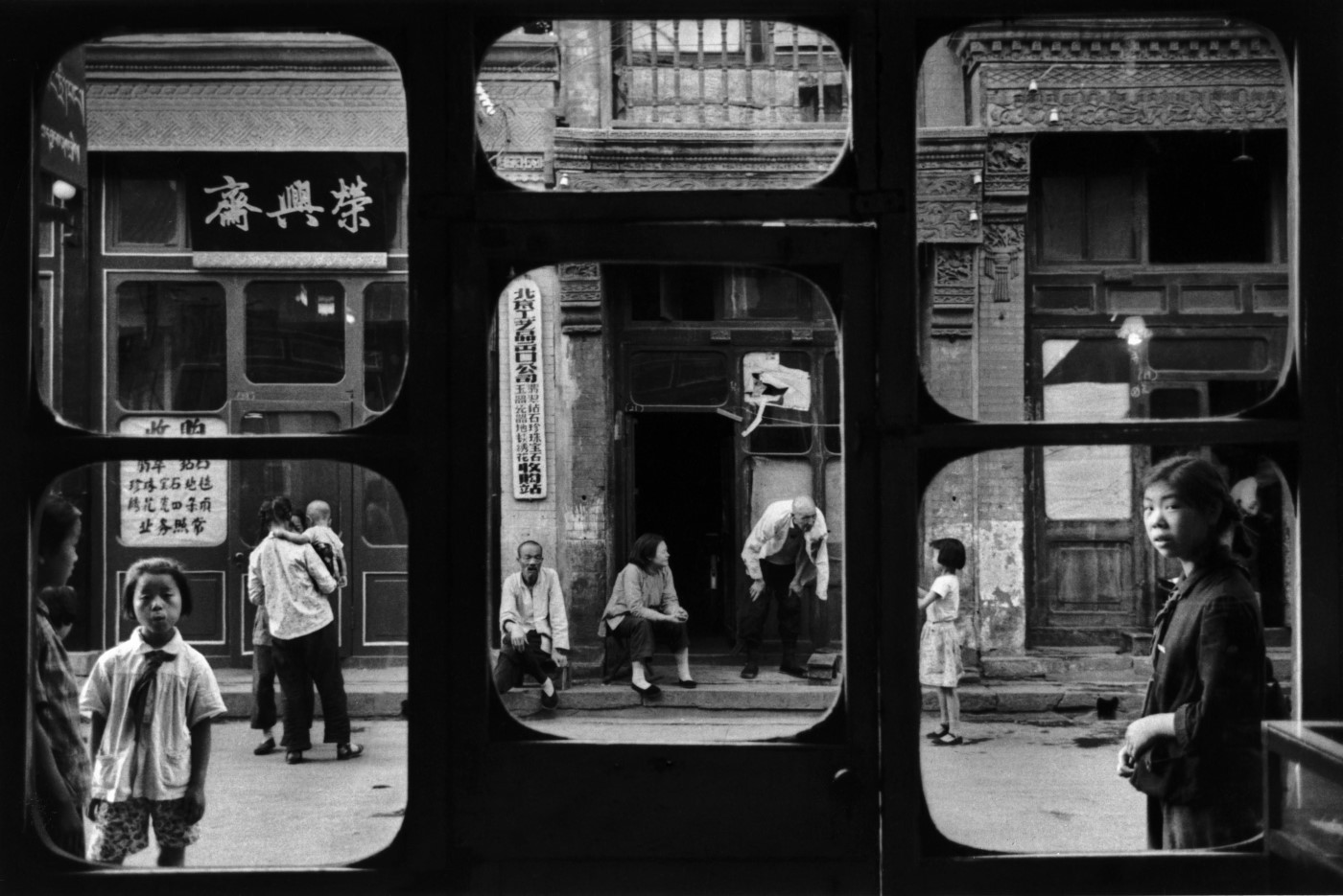 fenêtres d'antiquaire