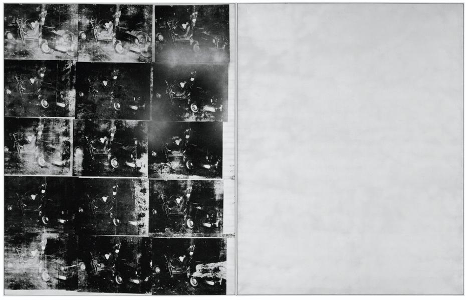 Silver_Car_Crash_by_Andy_Warhol_(1963)