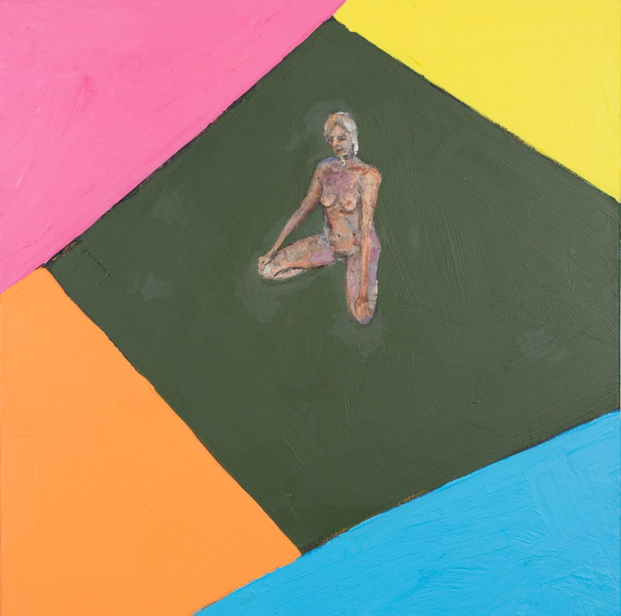 Bp Laval_Listen To Me Basil Vaseline-2_acrylic-oil on canvas_30_X30__2016 (Custom)
