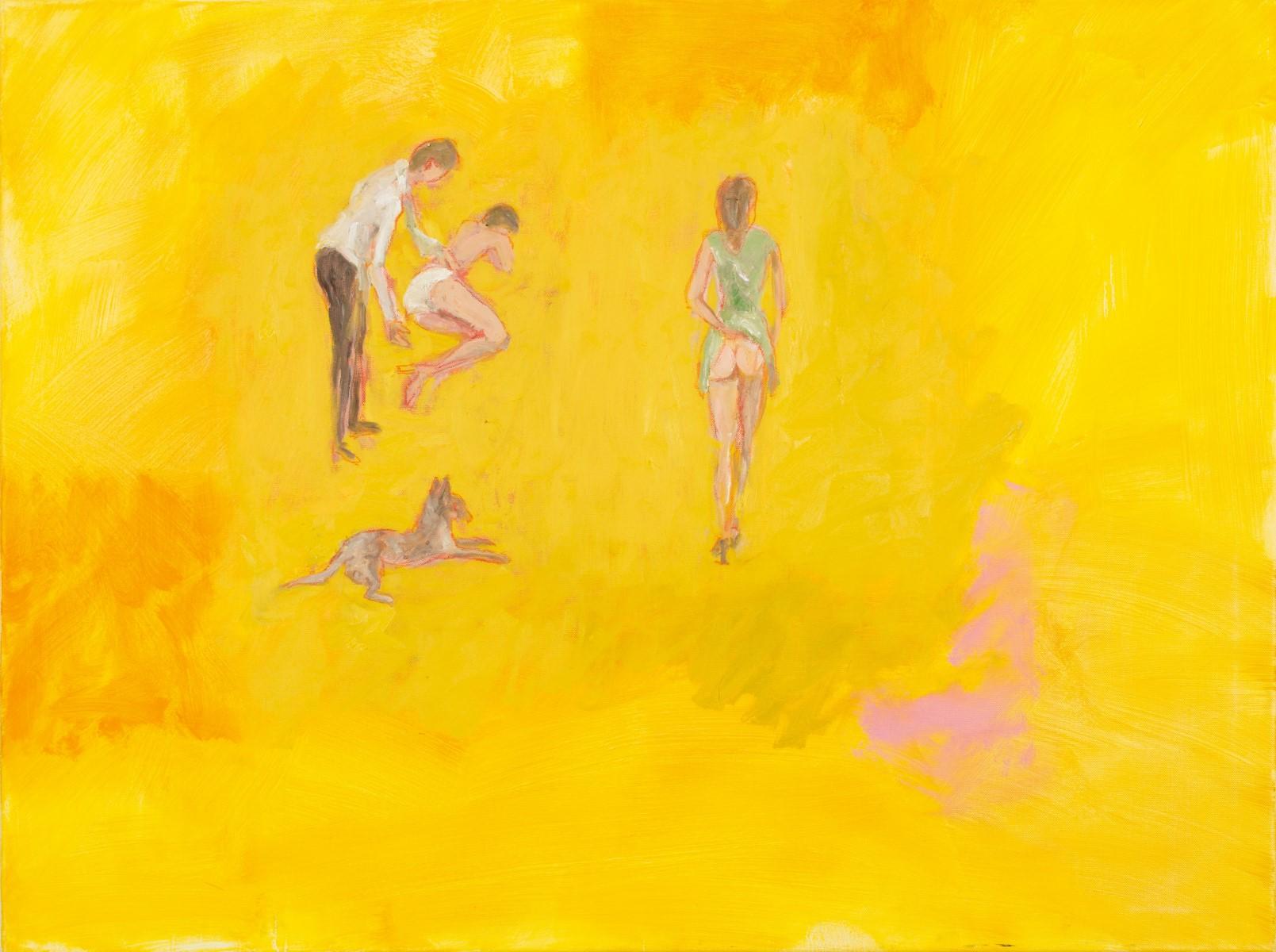 Bp Laval_Scans The Amateur Behind_oil on canvas_40_X30__2015 (Custom)